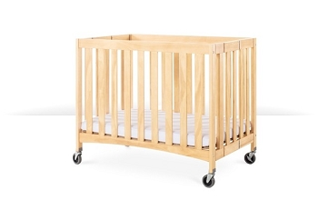 Travel Sleeper® Commercial Compact Folding Wood Crib