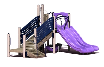 Escapade Play Structure - Metal or Wood Available