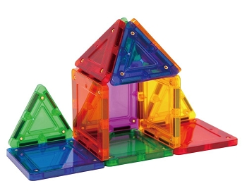 Magformers TileBlox - Rainbow - 14 Pieces