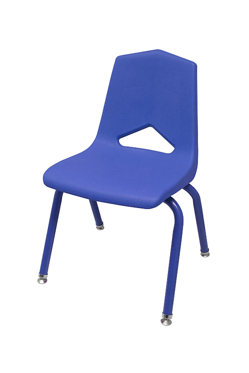 10'' V Back Stack Chair - Set of 6