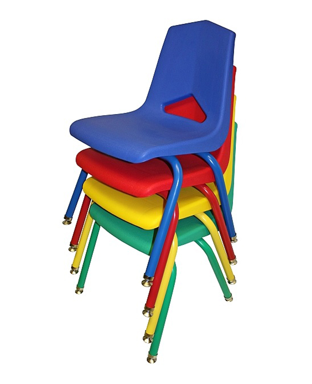 16'' V Back Stack Chair - Set of 6