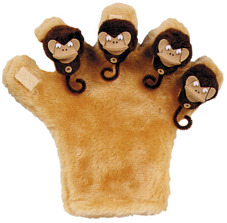 Double Sided Monkey Mitt