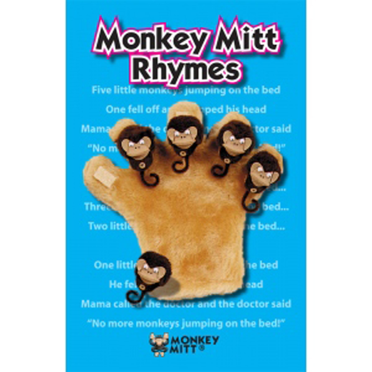 Monkey Mitt Rhyme Book