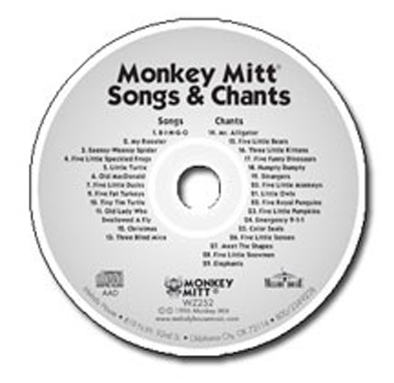 Monkey Mitt Songs & Chants CD