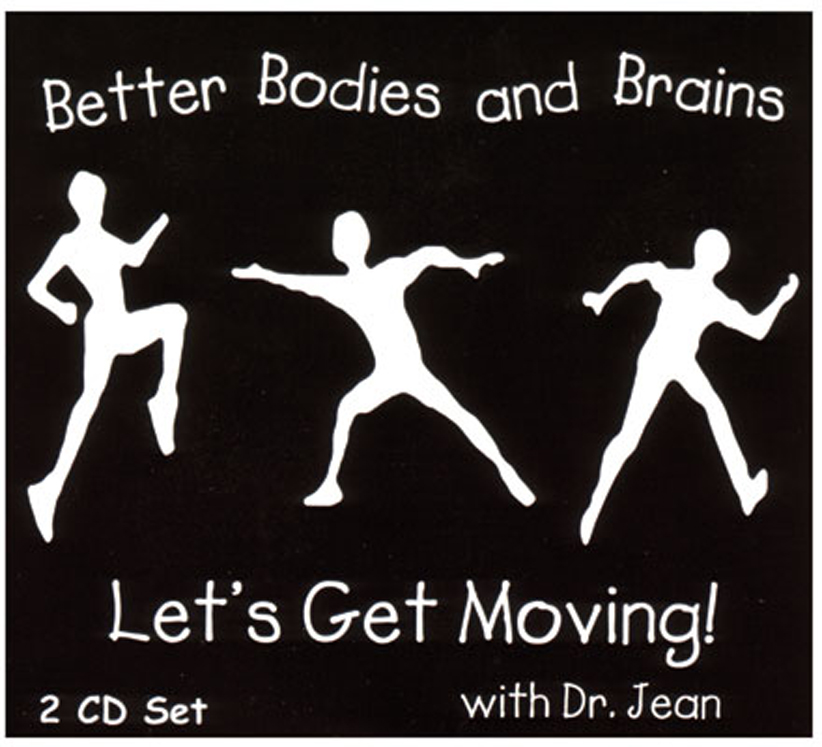 Let's Get Moving with Dr. Jean - 2 CD Set