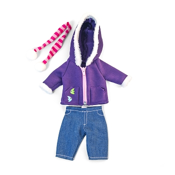 Cold Weather Purple Fleece - For 12