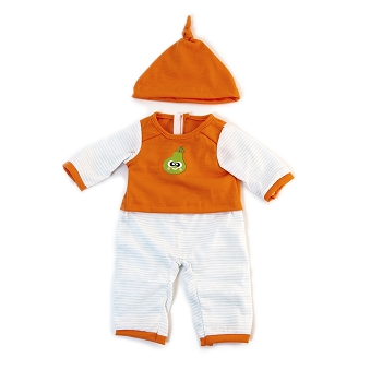 Cold Weather Orange PJ's - For 15