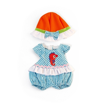 Mild Weather Romper Hat Set - For 12