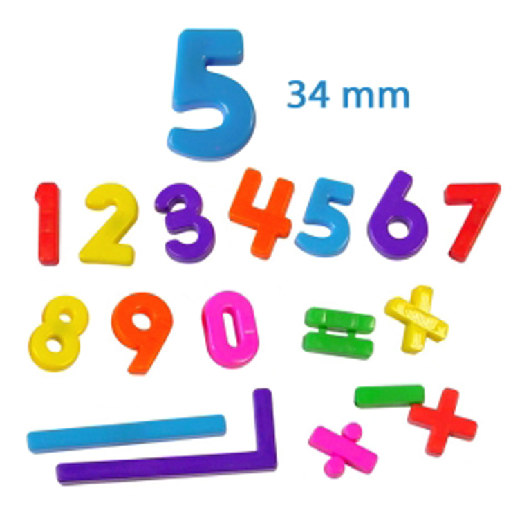 Magnetic Numbers - Set of 54