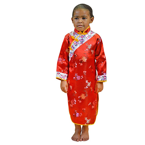 Asian Girl Cultural Wear