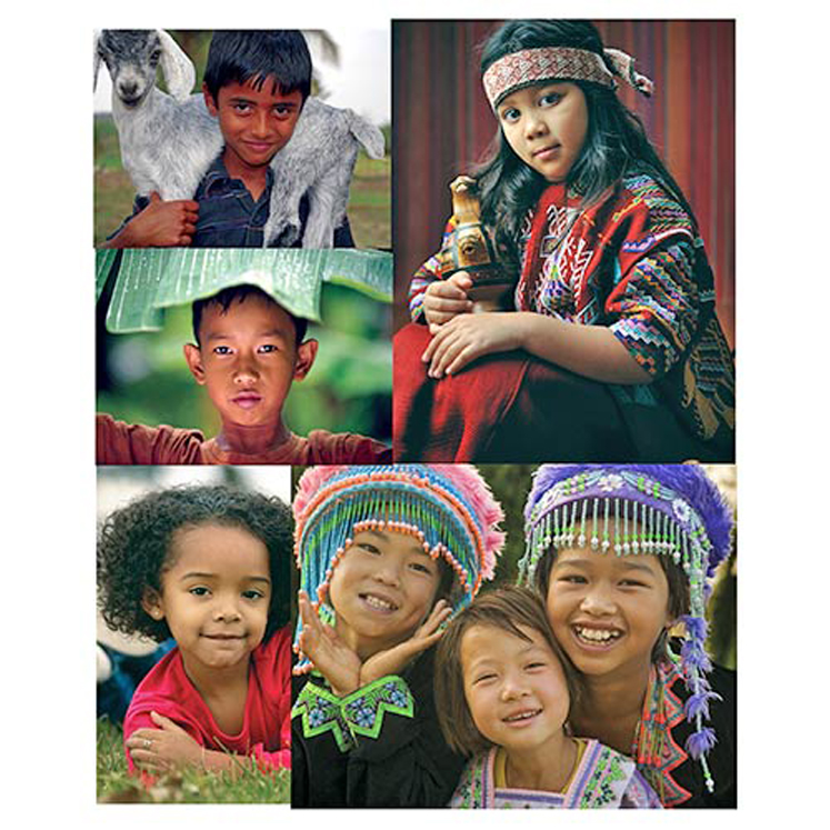 Children of the World Posters - Set of 12