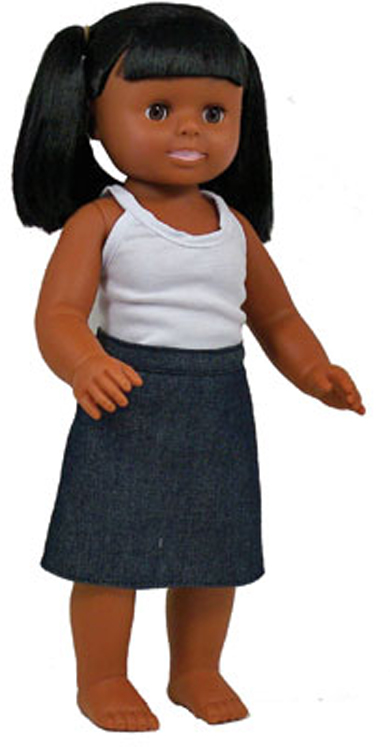 Multicultural Dolls, African American Girl