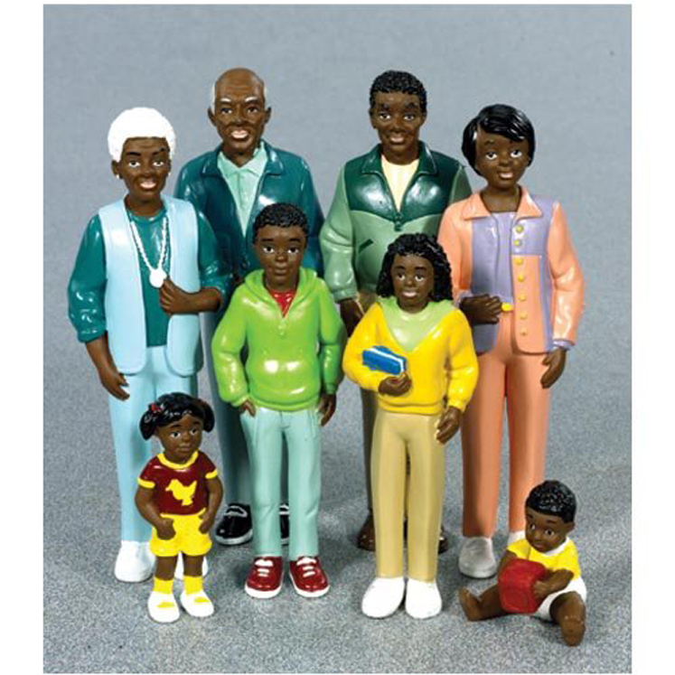 Pretend & Play African American Family