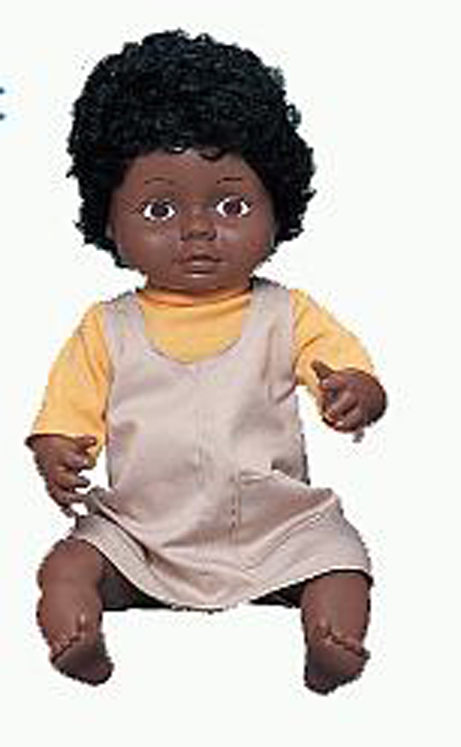 Black Ethnic Girl Doll