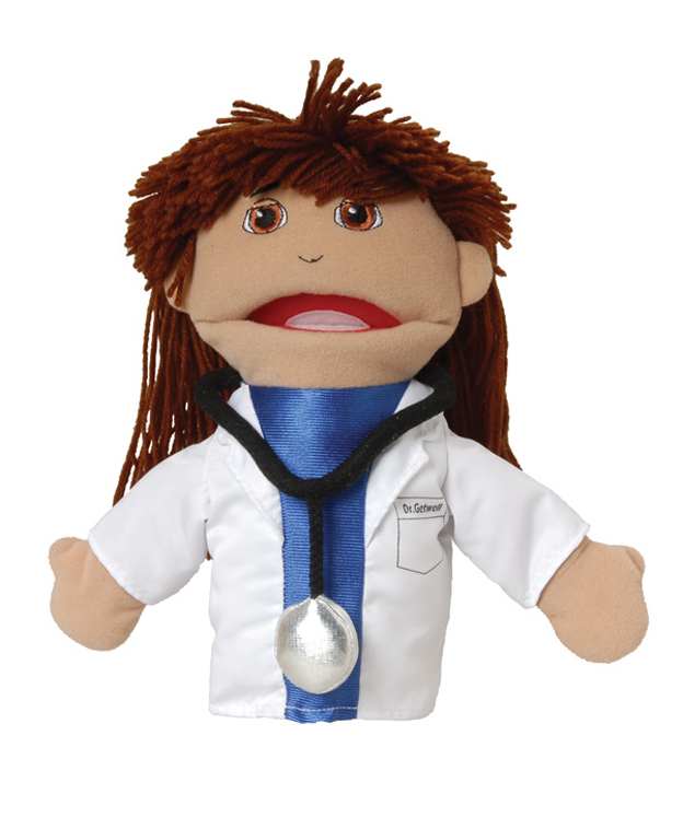 Multi-Ethnic Career Puppet, Doctor
