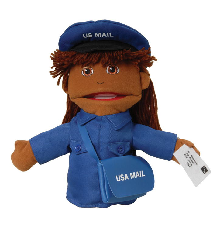 Multi-Ethnic Career Puppet, Mail Carrier