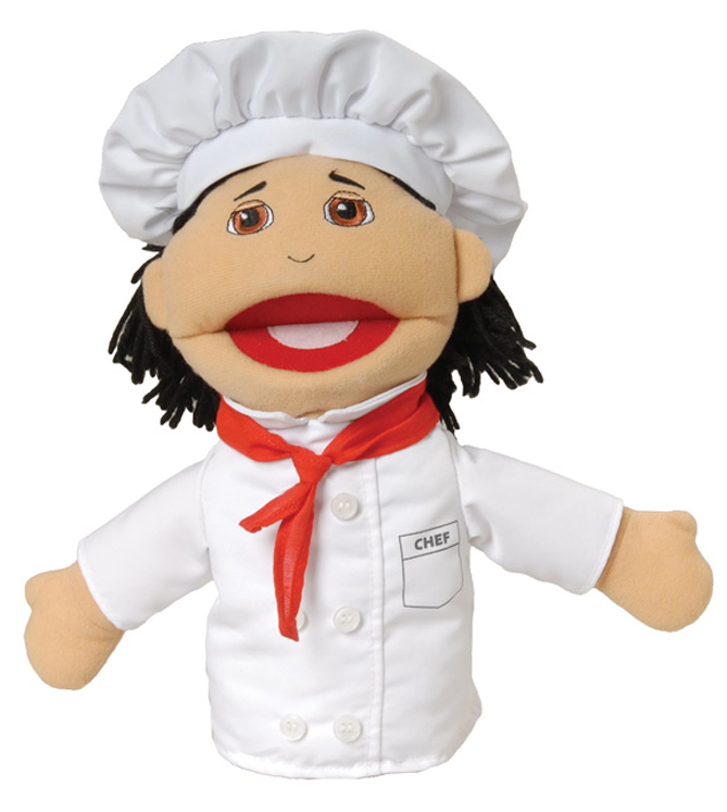 Multi-Ethnic Career Puppet, Chef