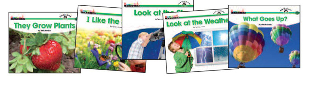 Science Content-Area Sight Word Readers, English - 16 Titles