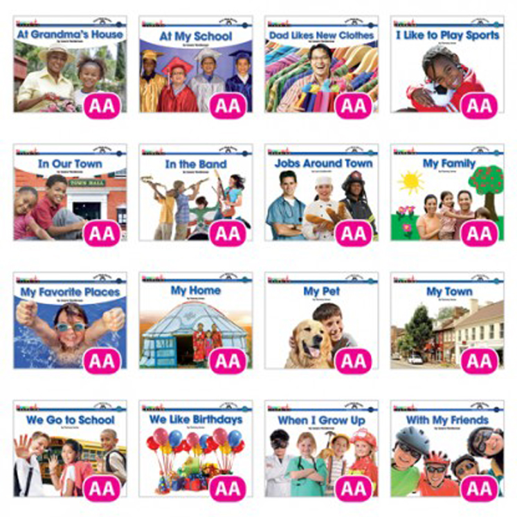Social Studies Content-Area Sight Word Readers, English - 16 Titles