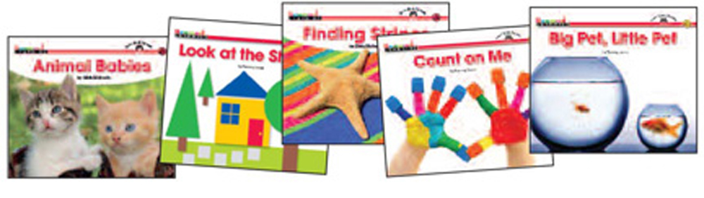 Math Content-Area Sight Word Readers, English - 16 Titles