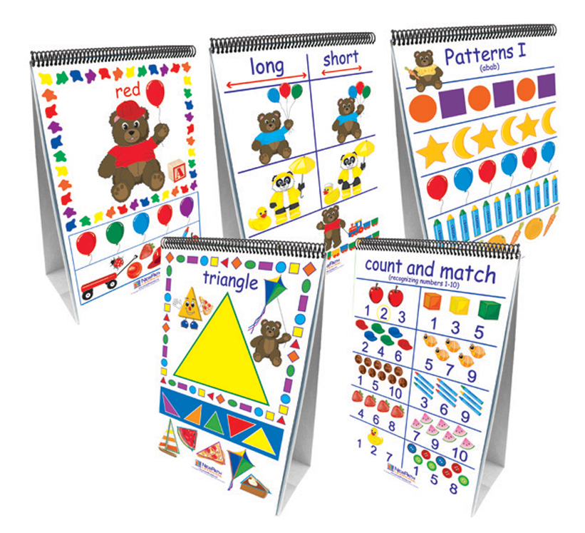 Early Childhood Science Readiness - Flip Charts - Set of all 7
