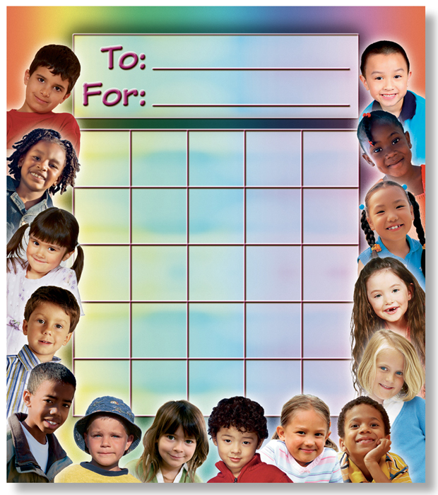 All Kinds of Kids - Mini Incentive Chart