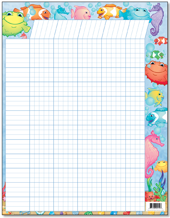 Under The Sea - Classroom Incentive Chart