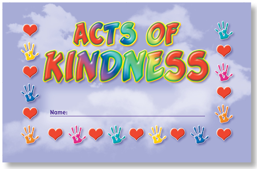 Acts of Kindness - Incentive Punch Cards