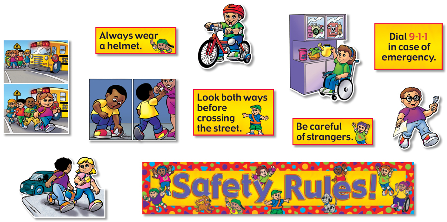 Safety Rules! Bulletin Board Set