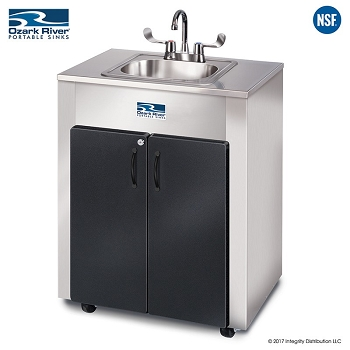 Nature Premier Adult Size - Premier Pro Hot Water Portable Outdoor Sink