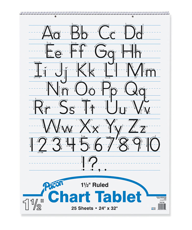 Chart Tablet, 1-1/2