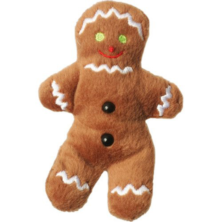 Gingerbread Man - Finger Puppet, 4.5''