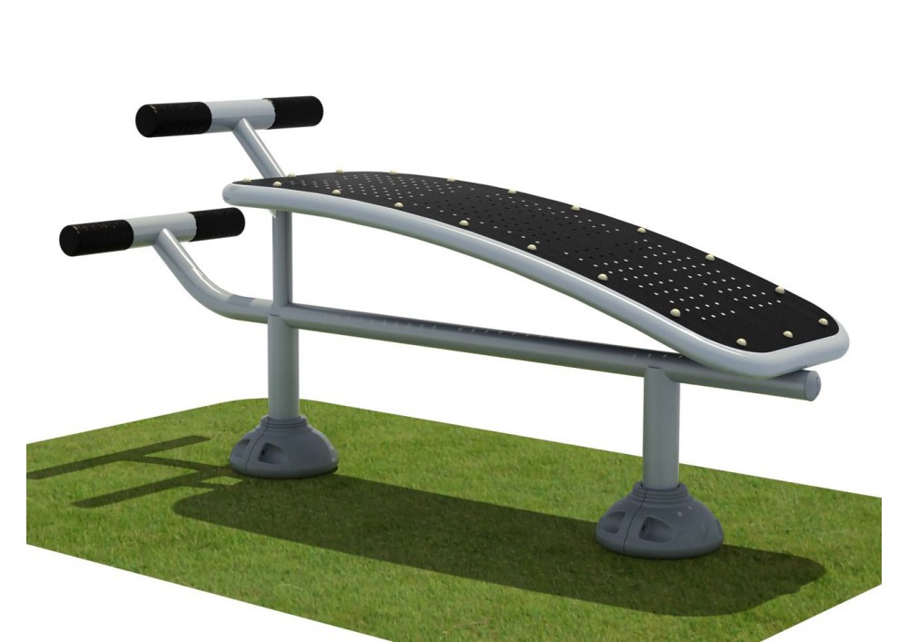 Single Station Sit Up Bench