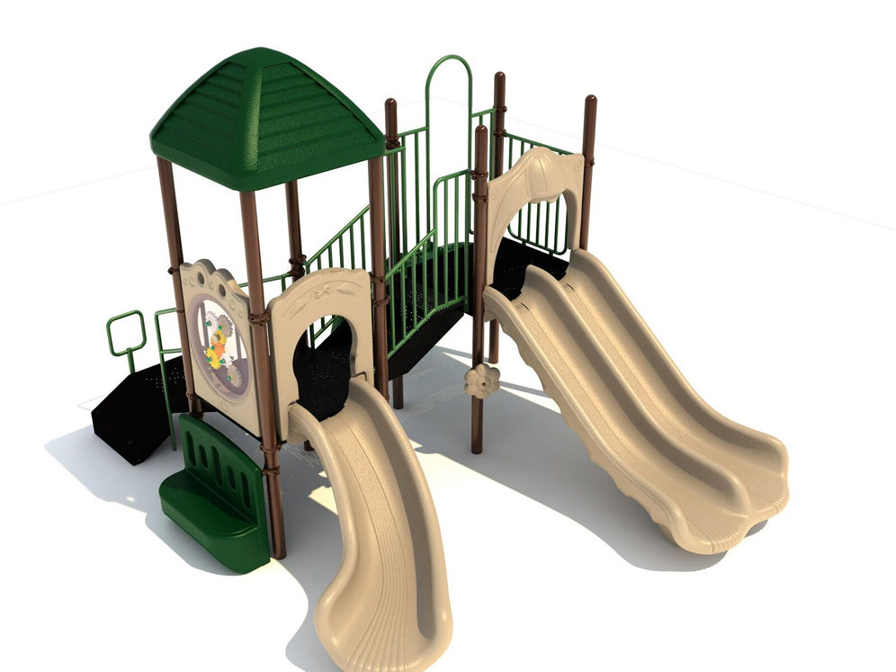 Gallopin' Gertie Playground Structure - Natural or Bright
