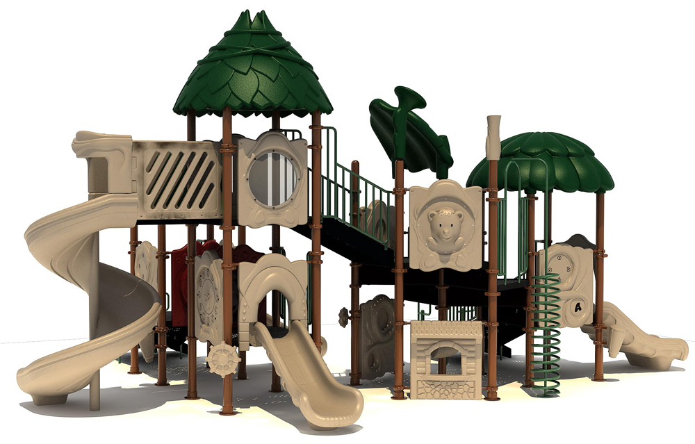 Johnny Appleseed Playground - Natural Colors