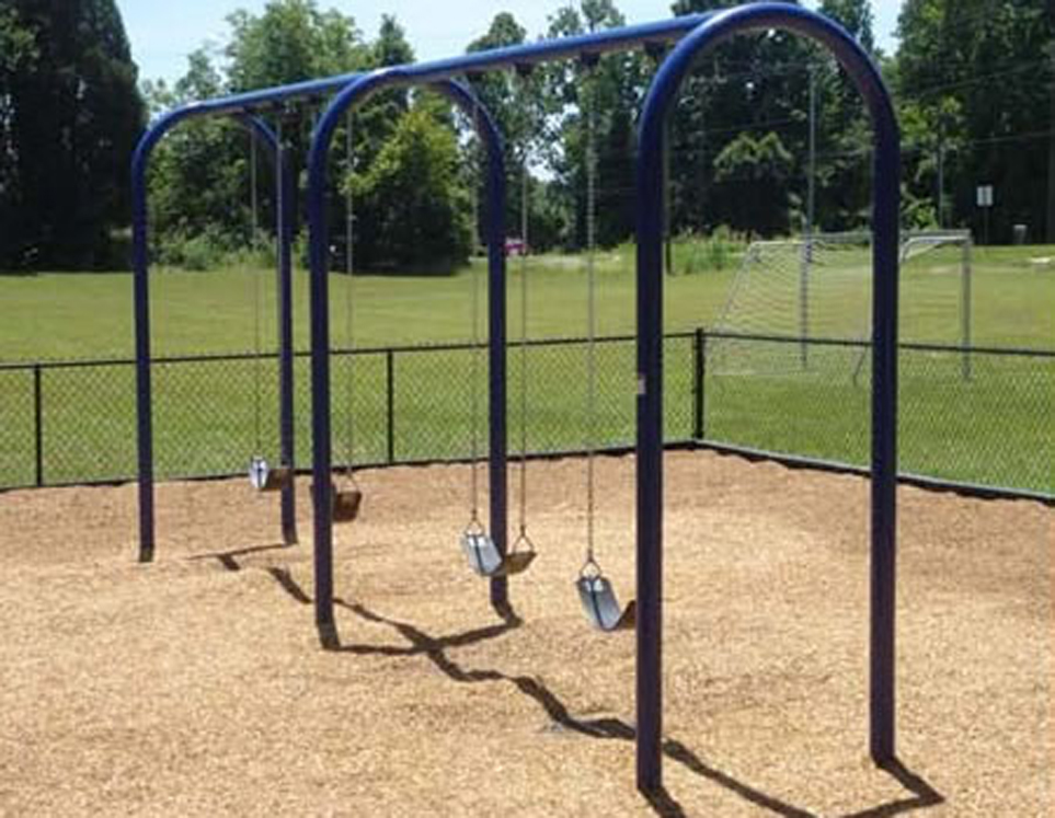 8' High Elite Arch Post Swing - Two Bay With Option to Four Bay