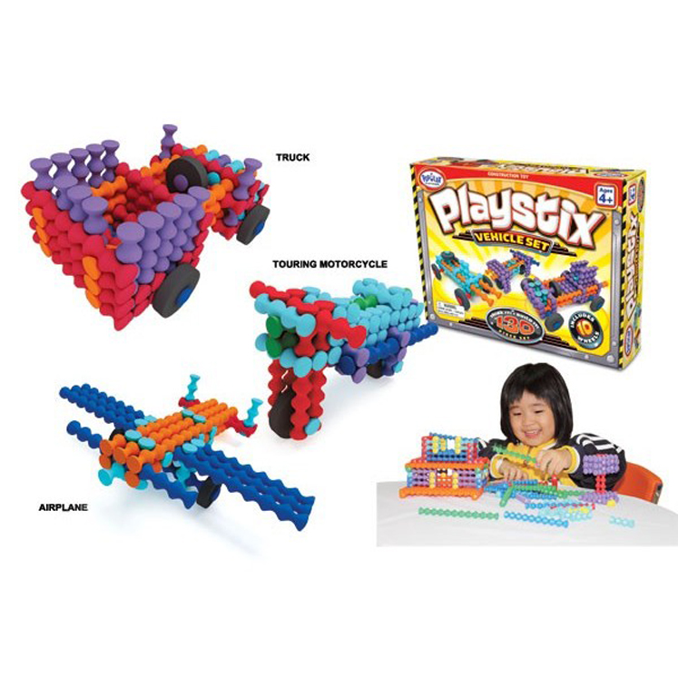 Playstix Vehicles Set