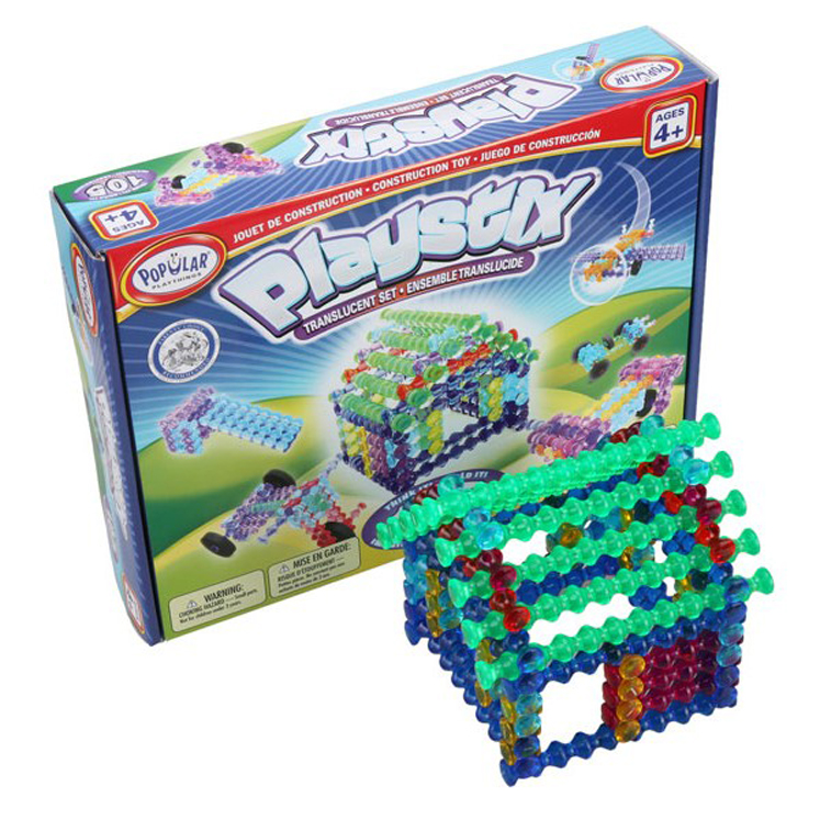 Playstix Translucent Set - 105 Pieces