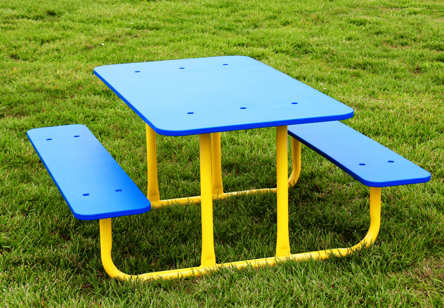 Picnic Table (Blue/Yellow)