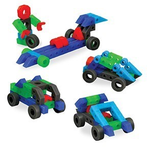 Liqui Fuza Cars - 102 Piece Set
