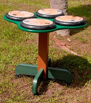 QuaDDDD Play Drum Table - Multiple Options Available