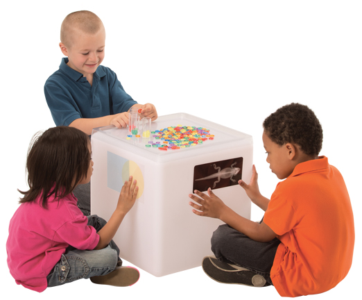 Educational Light Cube with Remote Control & Adapter