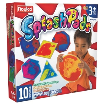Splash Pads, Set of 10 Geometric Shapes