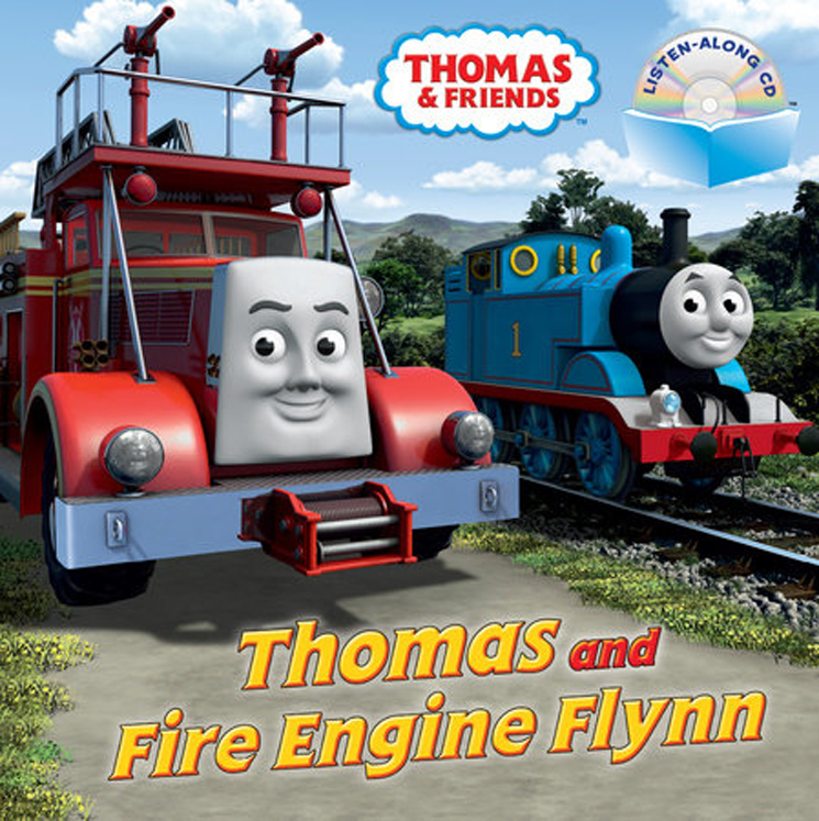 Thomas and Fire Engine Flynn Book and CD