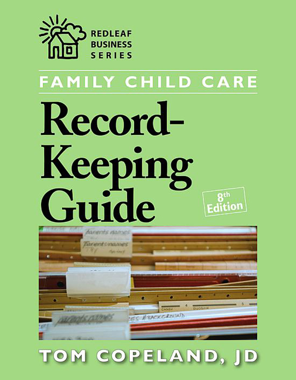 Family Child Care Record Keeping Guide 8th Ed