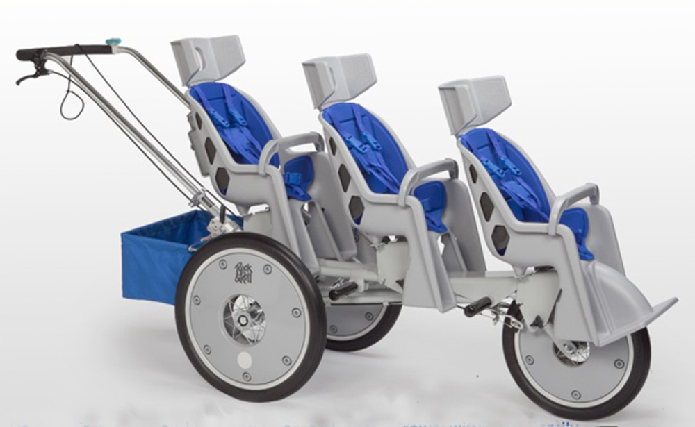 3-Seater Runabout Stroller - Accessories Available