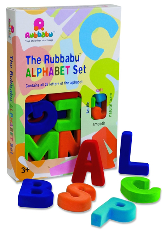 The Rubbabu Large Magnetic  Alphabet Set