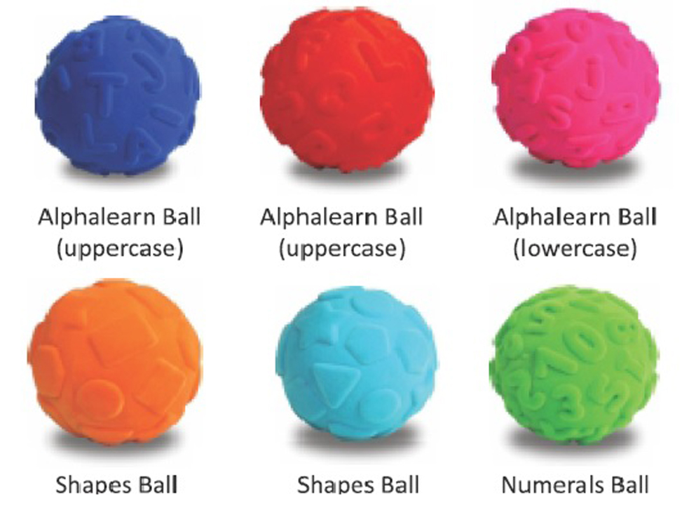 Educational Ball Assortment - Set of 6