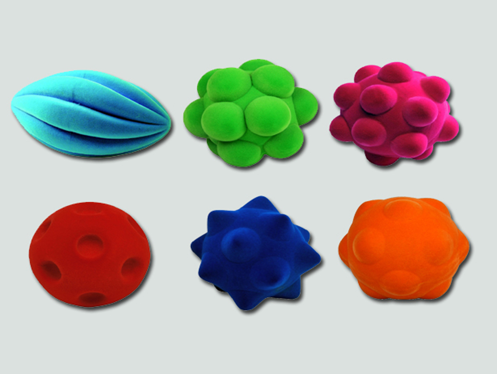 Funky Ball Assortment - 6 Pieces