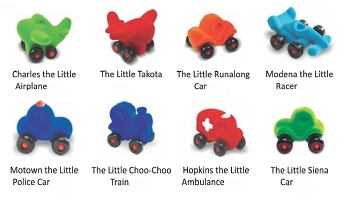 Little Vehicle Assortment - Set A